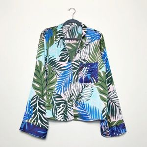 ASOS • silk blouse